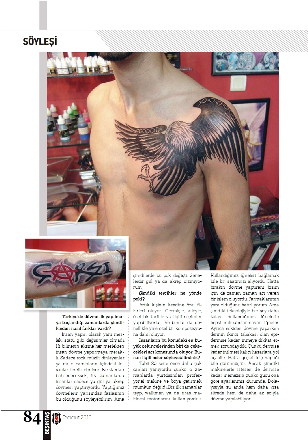 besiktas,dovme,tattoo,piercing