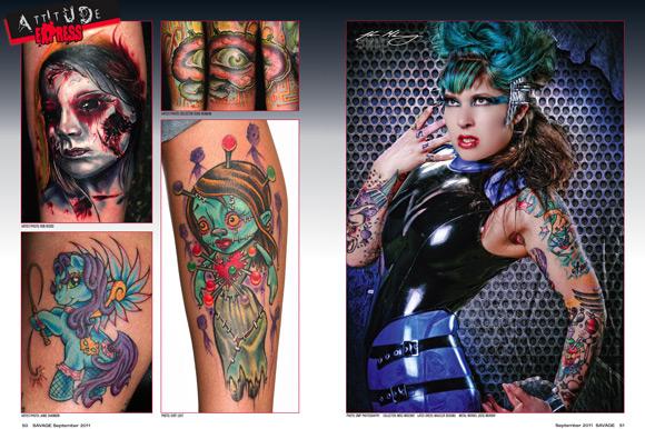 cok,renkli,dövme,resimleri