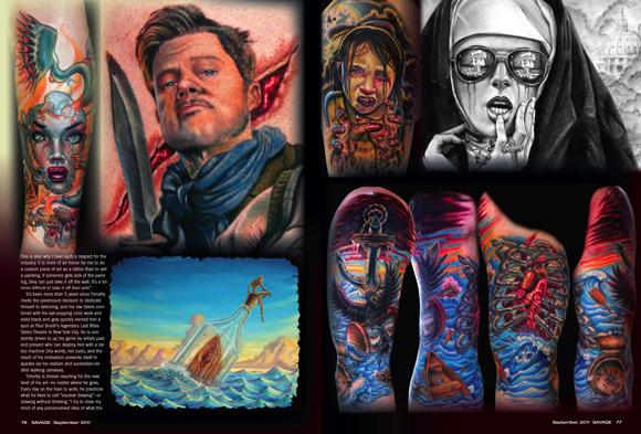 deniz,dövmeleri,undersea,tattoos