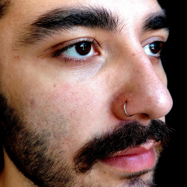 siyah,septum,piercing,beşiktaş,istanbul