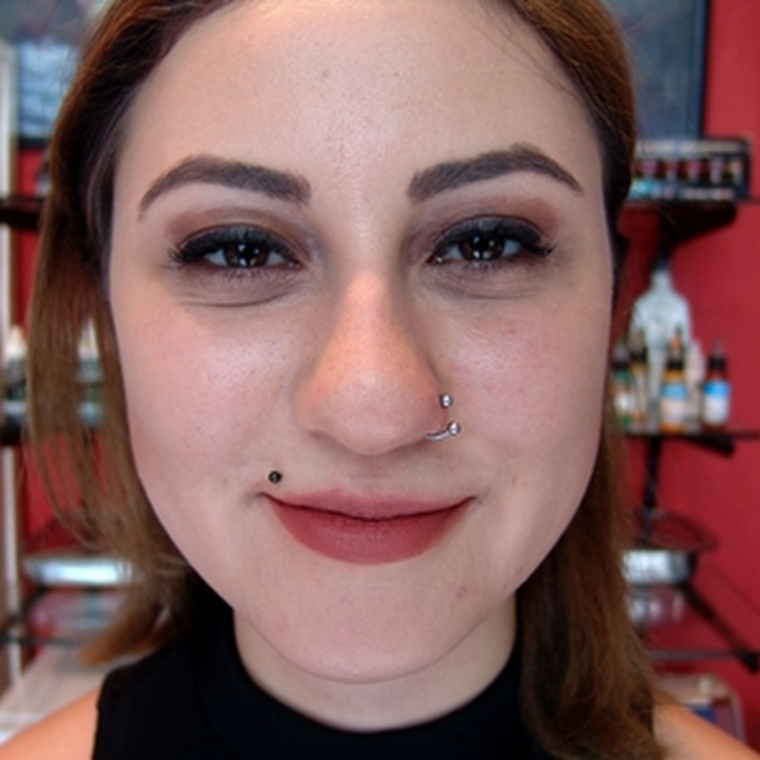 smiley,dudak,piercing,besiktas