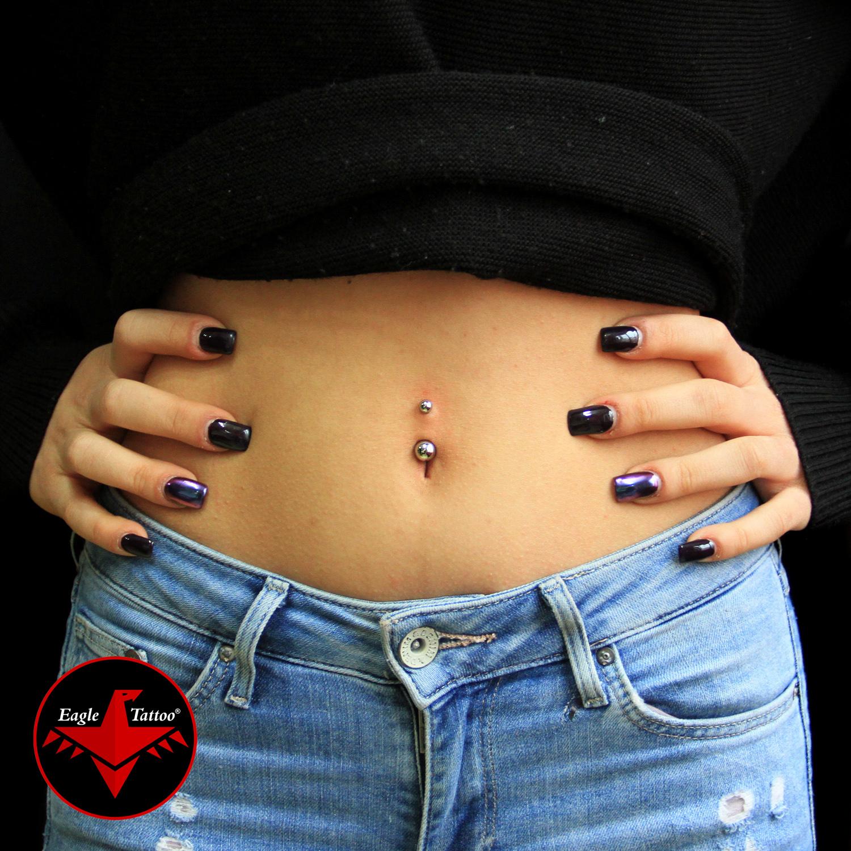 göbek,üstü,piercing