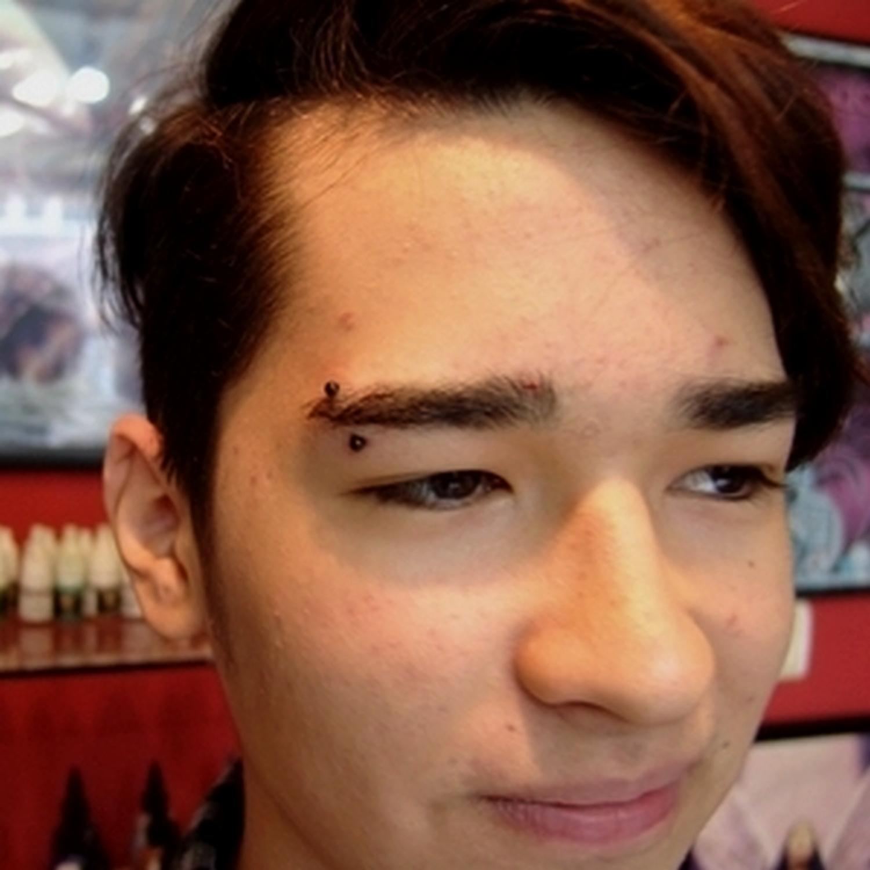 horizontal,kas,piercing