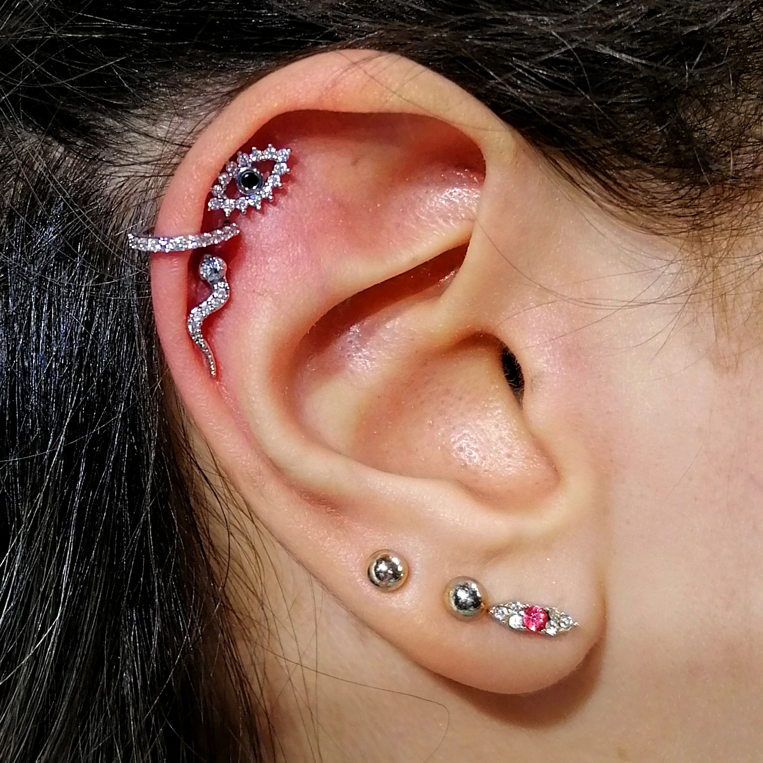 steril,tragus,piercing,istanbul