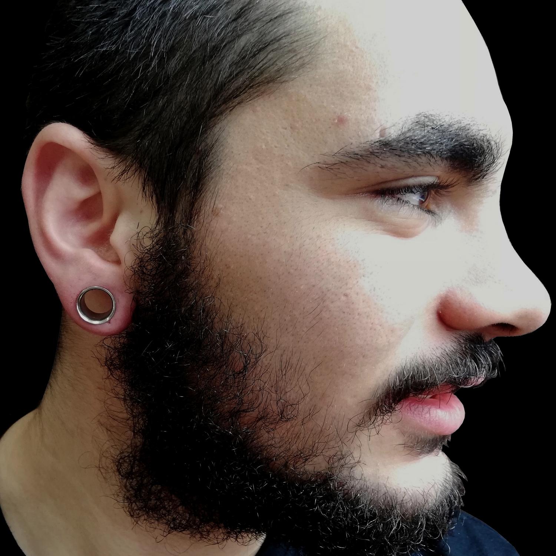 14,mm,tunnel,piercing,besiktas