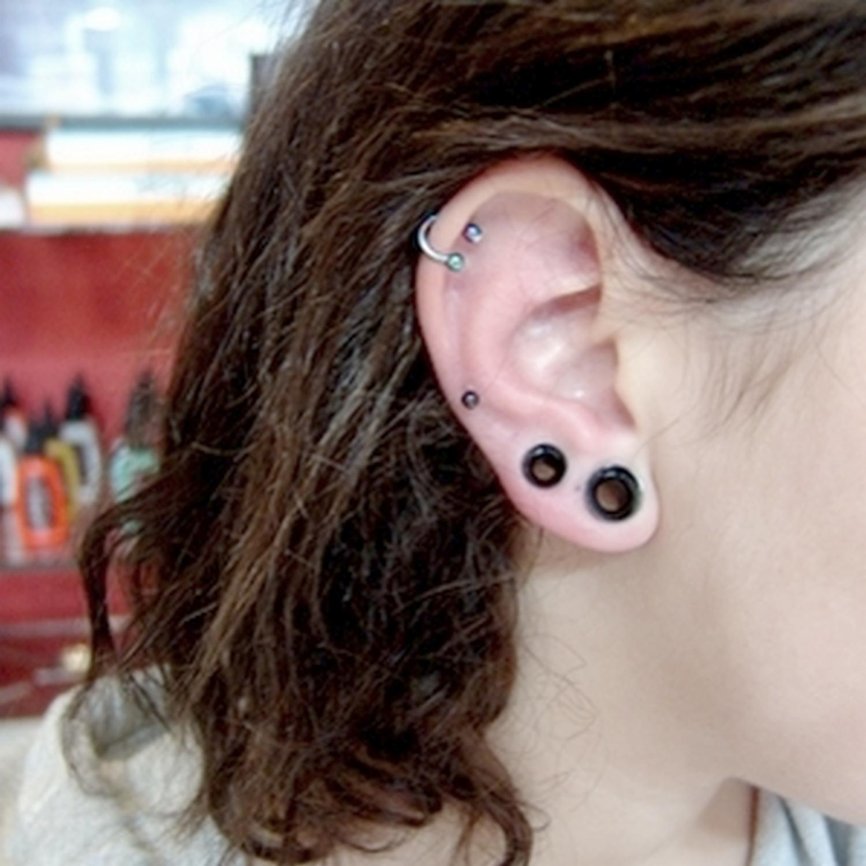 double,6,4,mm,tunel,piercing