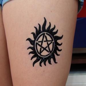 supernatural,tattoo,simge,dövmesi