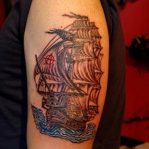 yelkenli,dövme,beşiktaş
