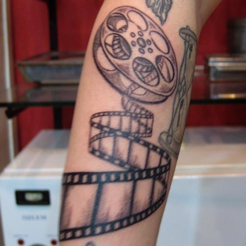 film,rulosu,dovme