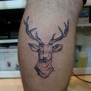 deer,tattoo