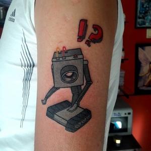 robot,dovmeleri,tattoo