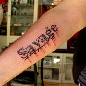 yazı,yazi,dovmeleri,savage,tattoo