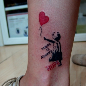 hope,tattoo