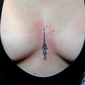enlightenment,symbol,unalome,tattoo