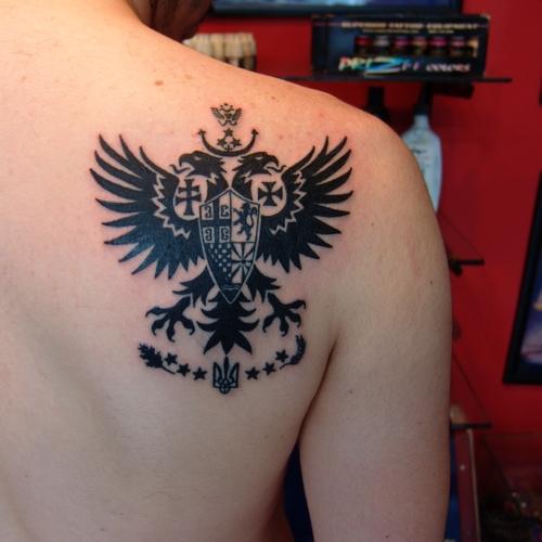 slavic,unity,flag,tattoo