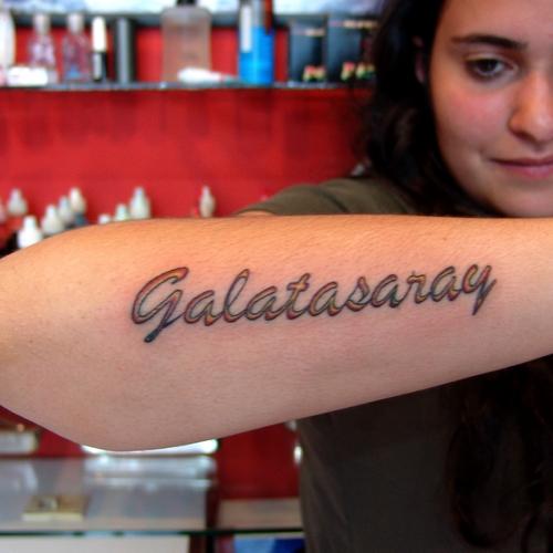 galatasaray,dövmeleri