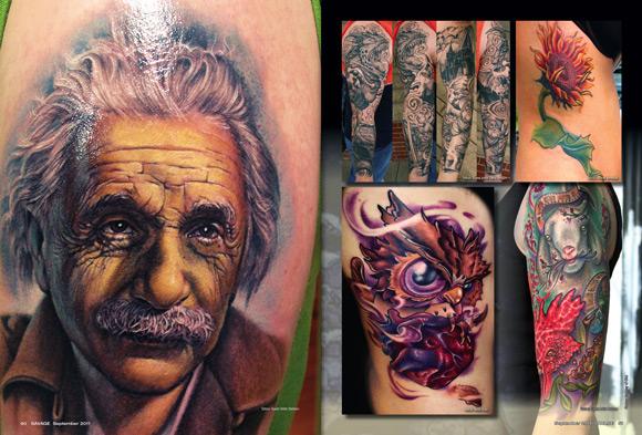 einstein,tattoo,tattoos