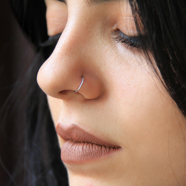 titanyum,halka,burun,piercing