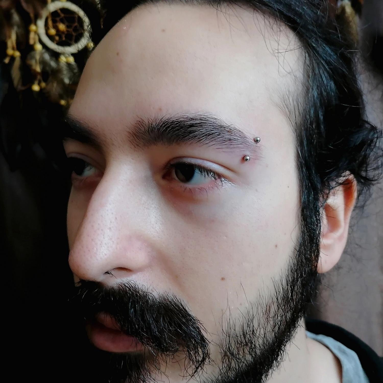 eyebrow,piercings,besiktas,istanbul