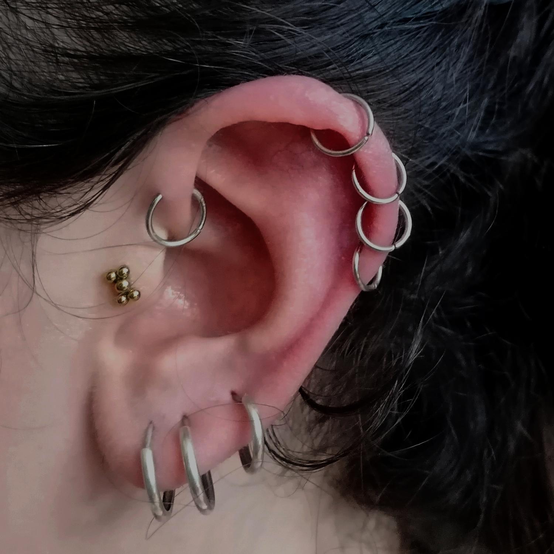 dörtlü,helix,piercing,fiyat