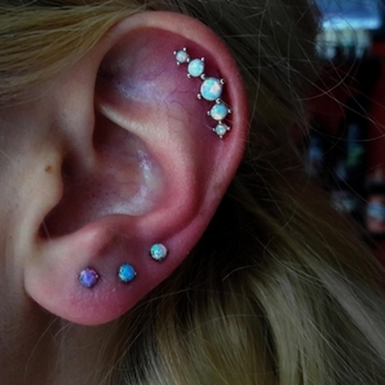 fire,opal,helix,piercing