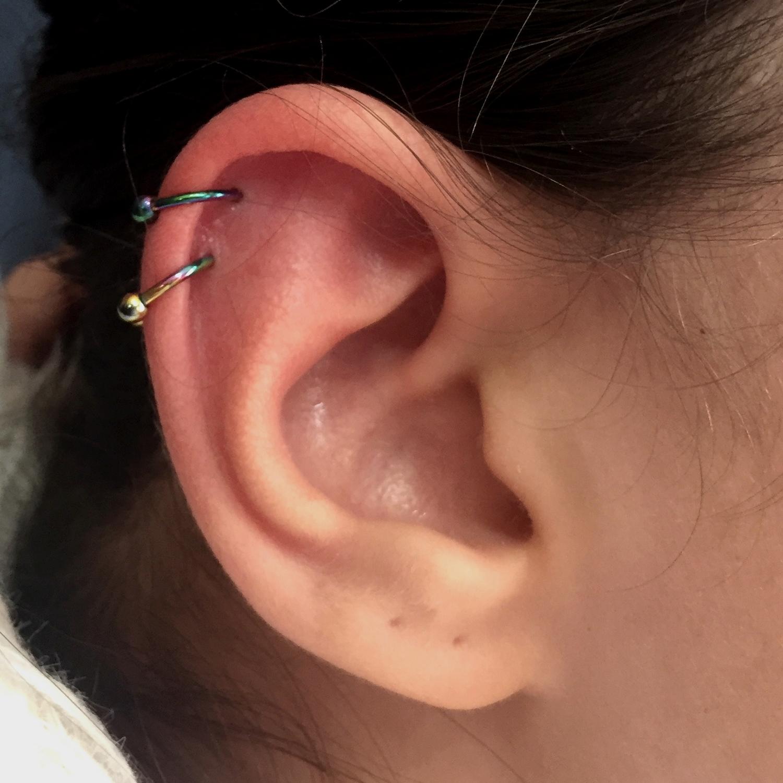 gokkusagi,cift,helix,piercing,besiktas