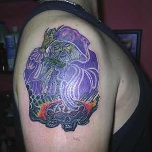 büyücü,dövmeleri