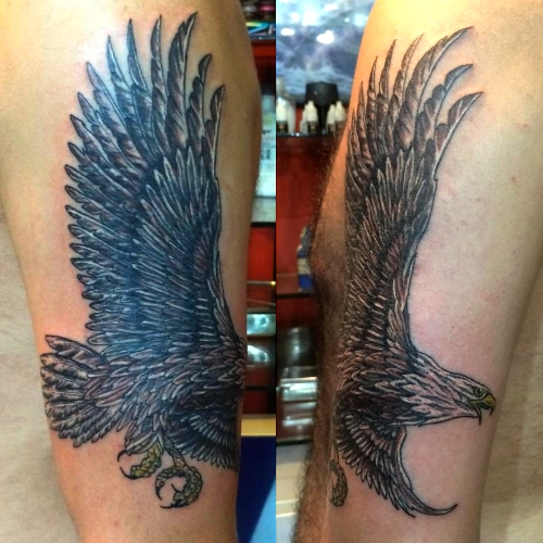 eagle,tattoo,kartal,dovmeleri,besiktas