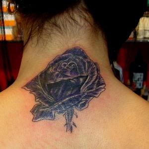 mor,gul,dovmeleri,purple,rose,tattoo