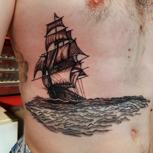 yelkenli,dovmeleri,sail,tattoo