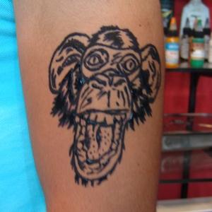 maymun,dovmeleri,kına,dövme,desenleri