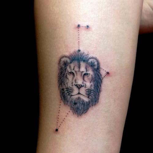 minimal,aslan,dövmesi,lion,tattoos