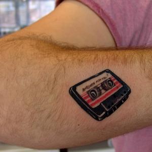 kaset,dovmeleri,cassette,tattoo