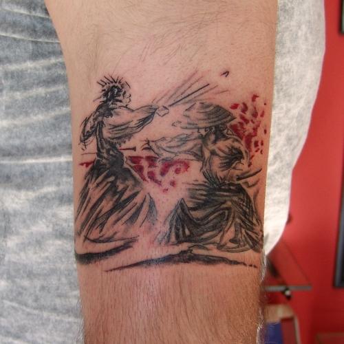 aikido,tattoos,dövme
