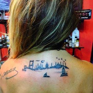 istanbul,silüeti,dövmesi,dövmeleri