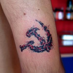 orak,çekiç,dövmeleri,hammer,and,sickle,tattoos