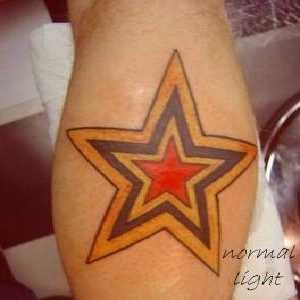 uv,yıldız,dövmeleri