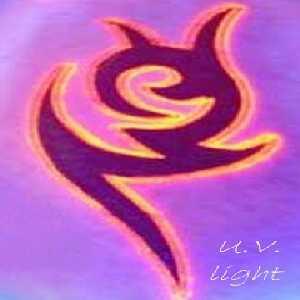 ultra,violet,renkli,dövmeler